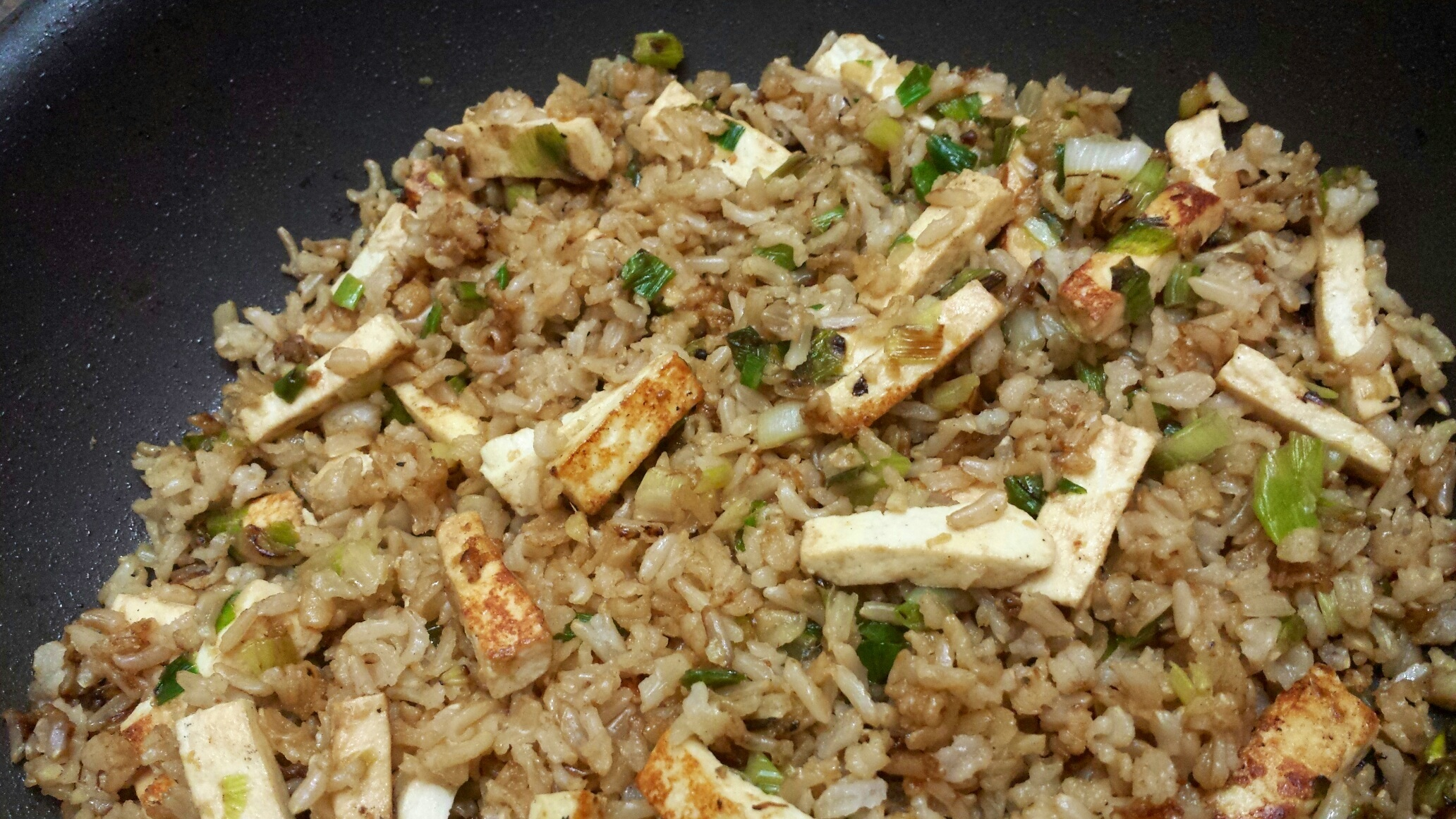 brown rice with ginger and scallions recipes dishmaps fried brown rice ...