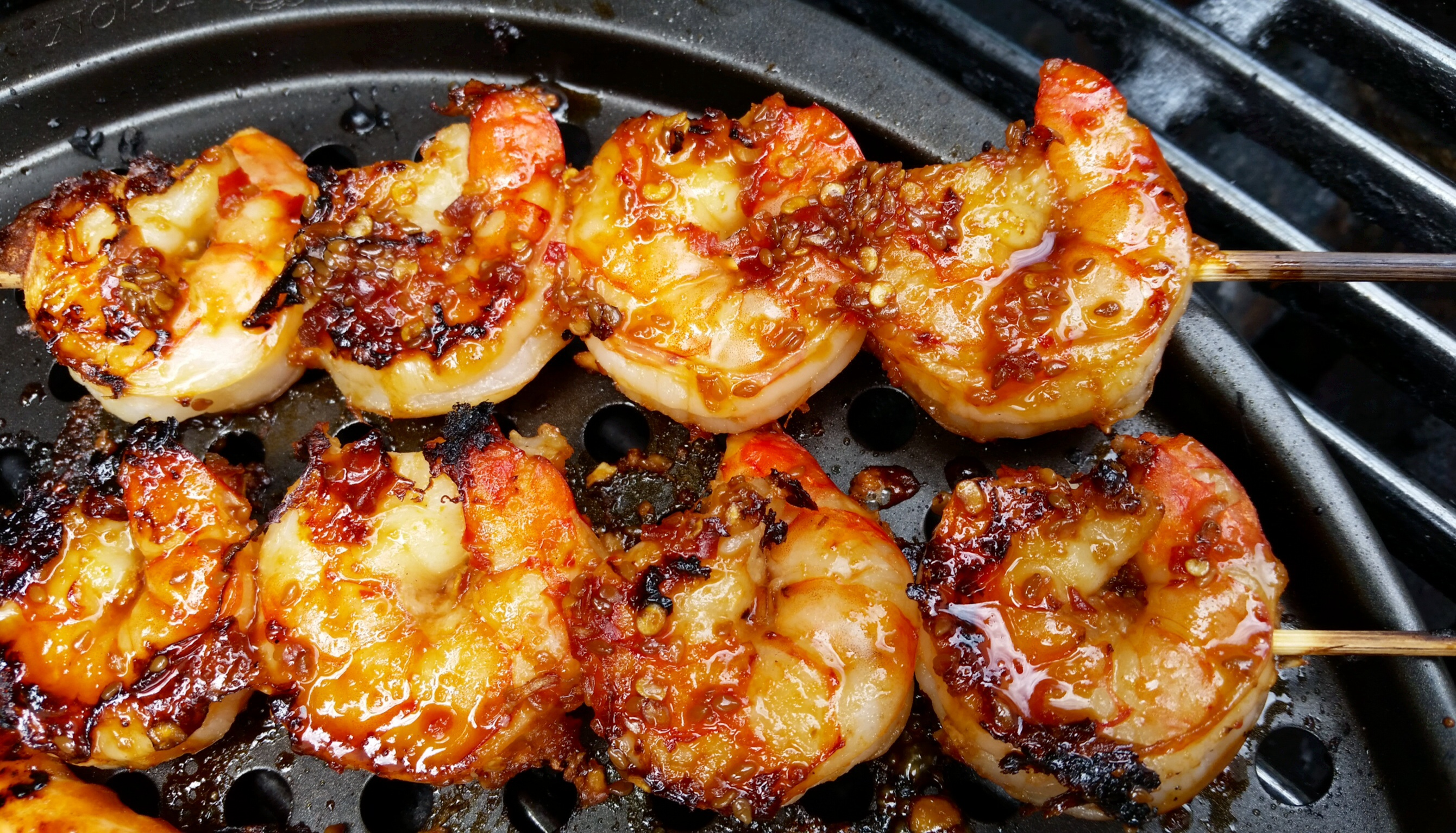 Lemongrass And Sriracha Grilled Shrimp Recipe — Dishmaps